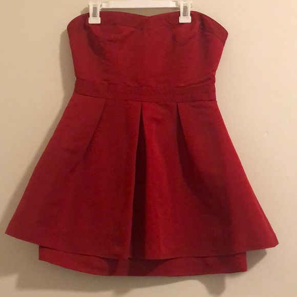 silence + noise Dresses & Skirts - Simple Red Dress